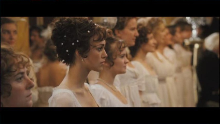 Lizzy Bennet baile