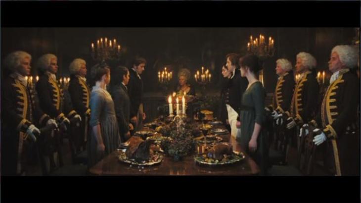 Cena Lady Catherine de Bourgh