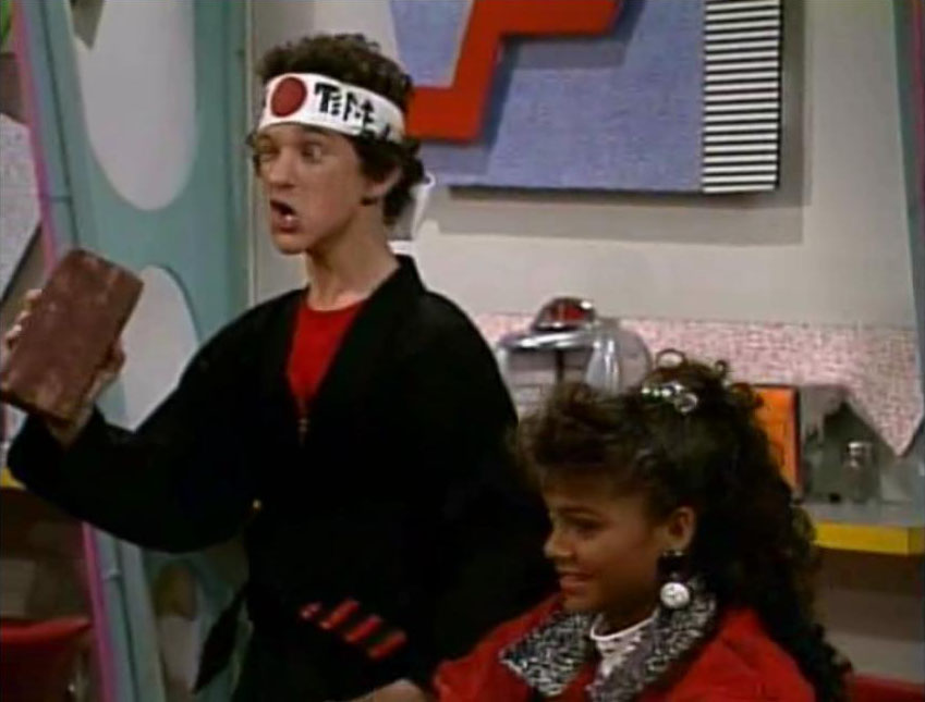 Screech Powers Save that tiger