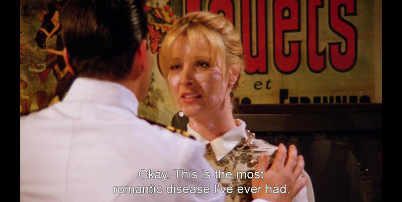 Phoebe Buffay chicken pox