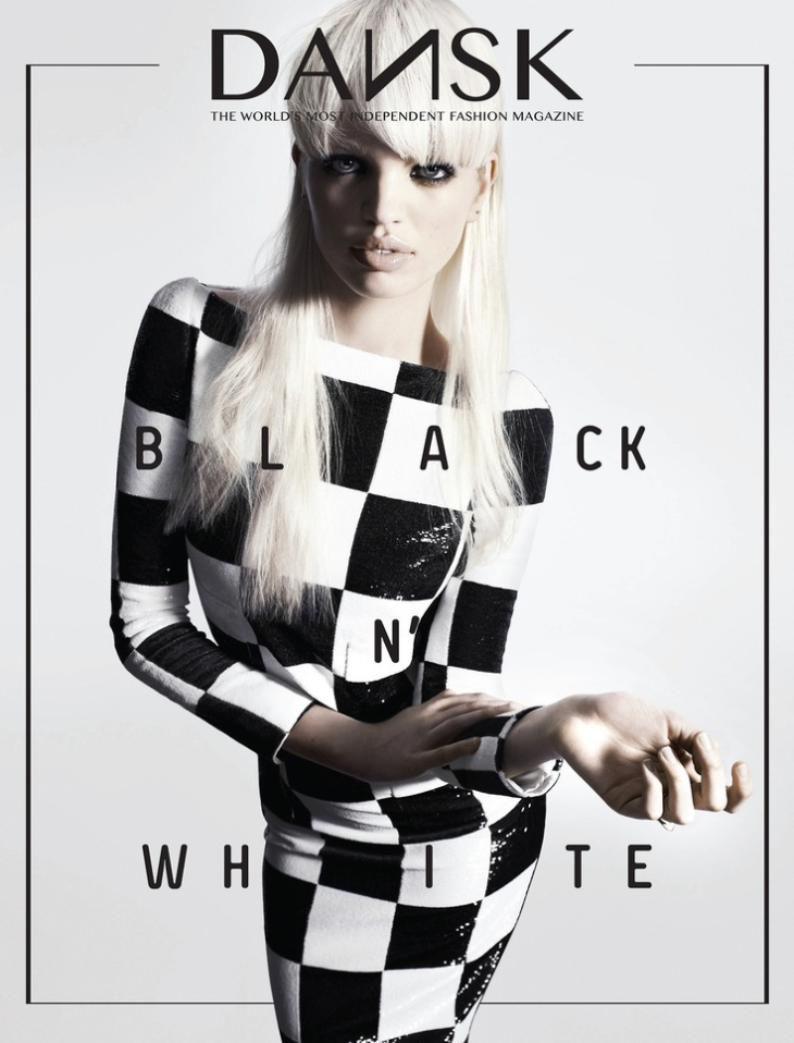 Daphne Groeneveld by Hasse Nielsen for Dansk #29, March 2013