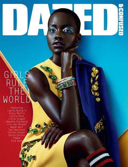 Lupita Nyong'o for Dazed+Confused febrero 2014
