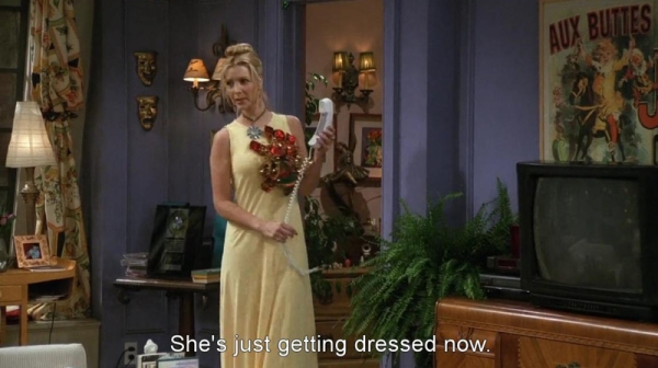 Phoebe Buffay, Season 3 Ep 2