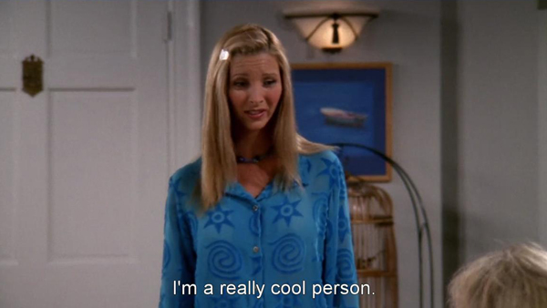 Phoebe Buffay, Season 4 Ep 1