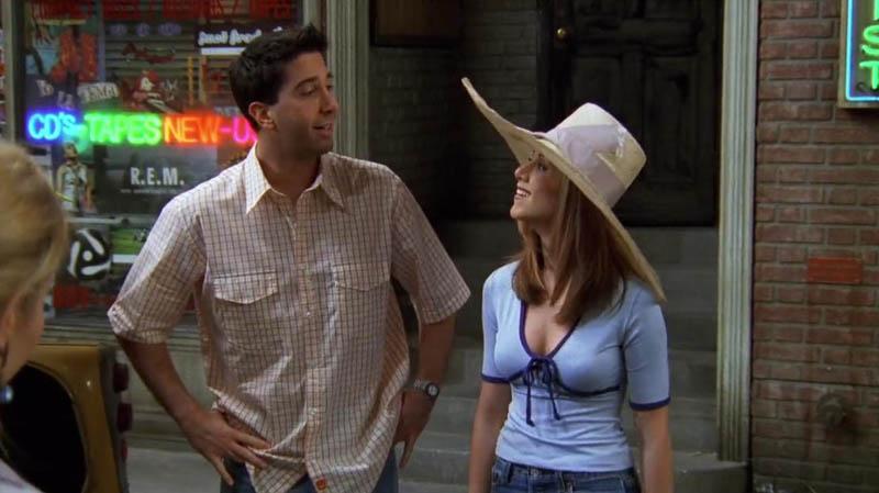 Rachel Green sombrero grande