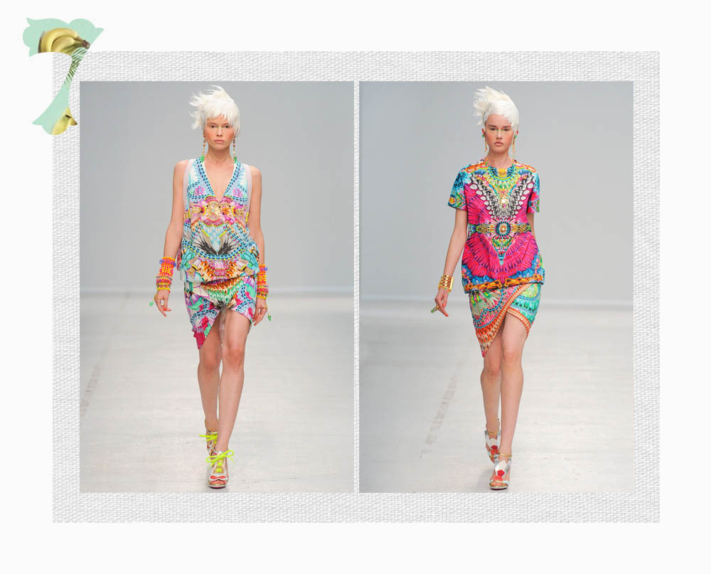 Manish Arora estampados 2014