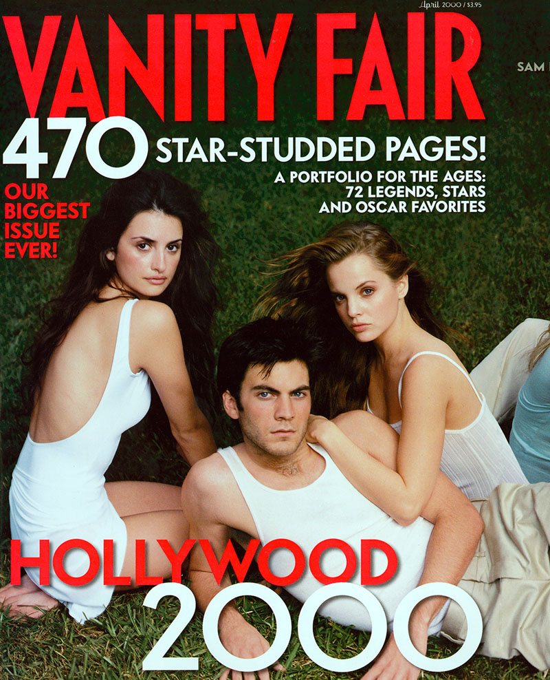 Annie Leibovitz VF Abril 2000 Cover
