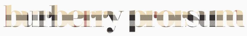burberry prorsum pattern copia