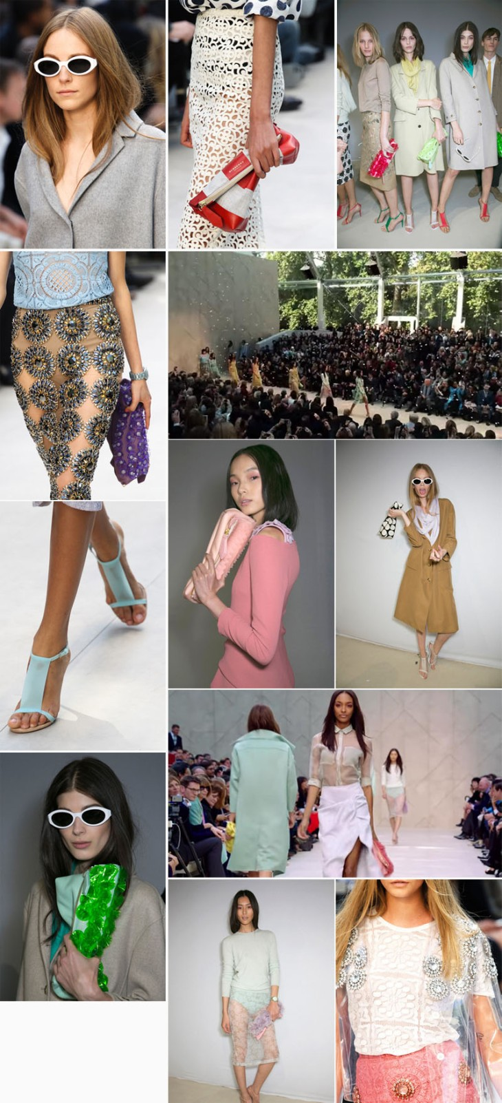 collage burberry spring 2014 copia