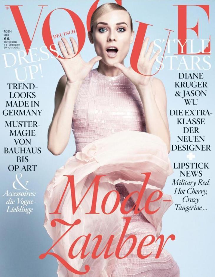 Vogue Germany Julio 2014