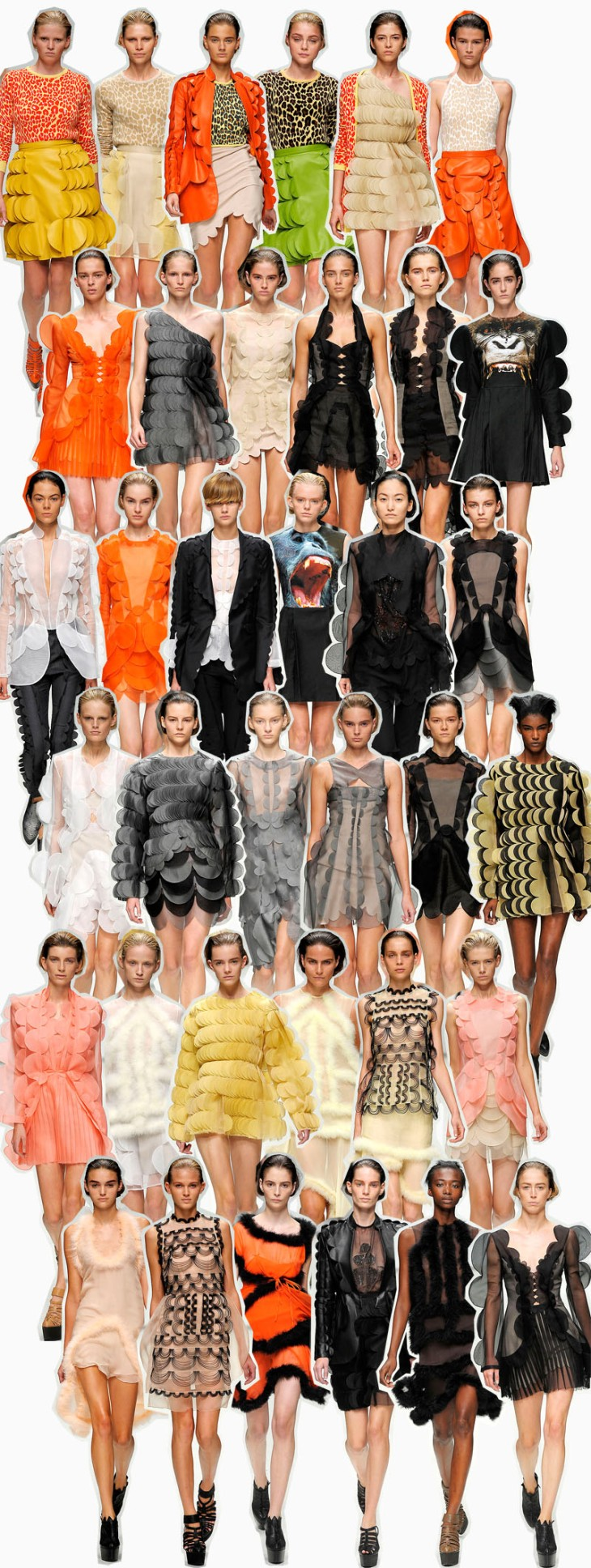 Christopher Kane collage copia