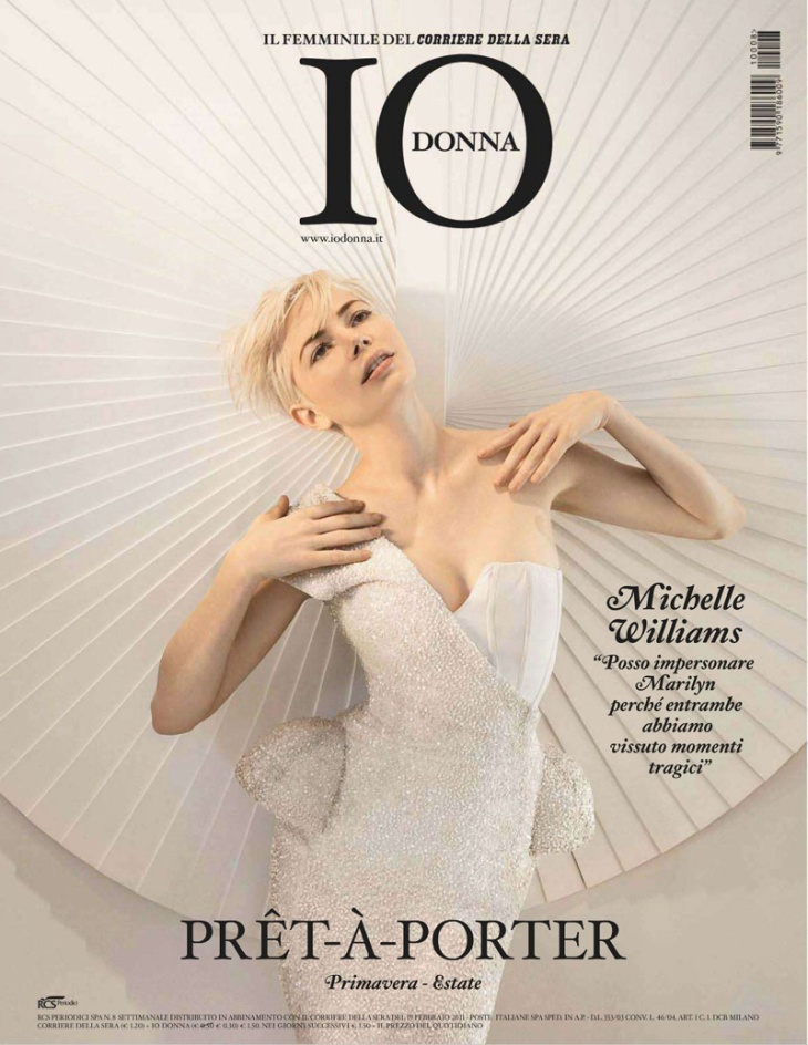 Michelle Williams by Tony Duran for Io Donna
