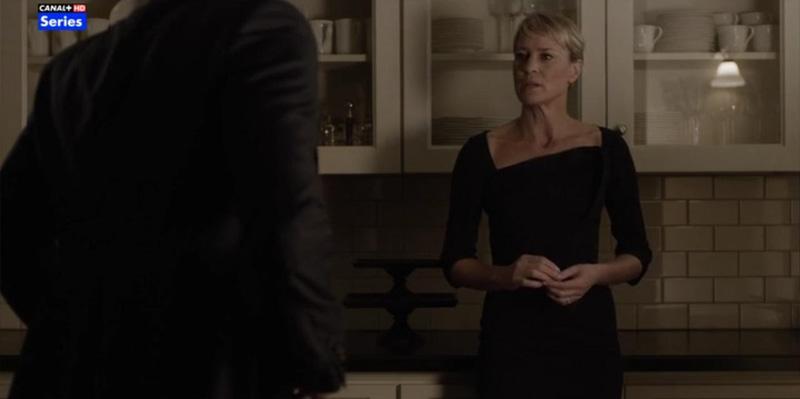 Claire Underwood vestido Antonio Berardi
