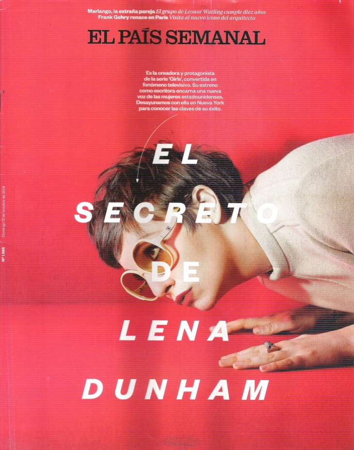 Lena Dunham for EPS Oct 2014