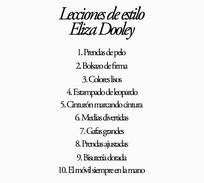 Lecciones de estilo de Eliza Dooley copia