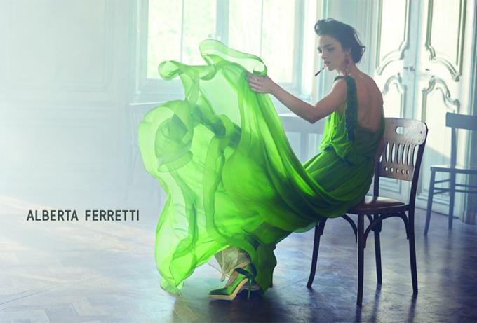 Alberta Ferretti Spring 2014 publi