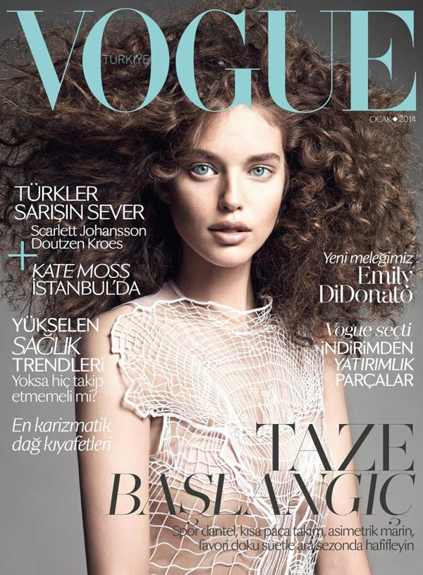 Emily Didonato for Vogue Turkey Jan 2014