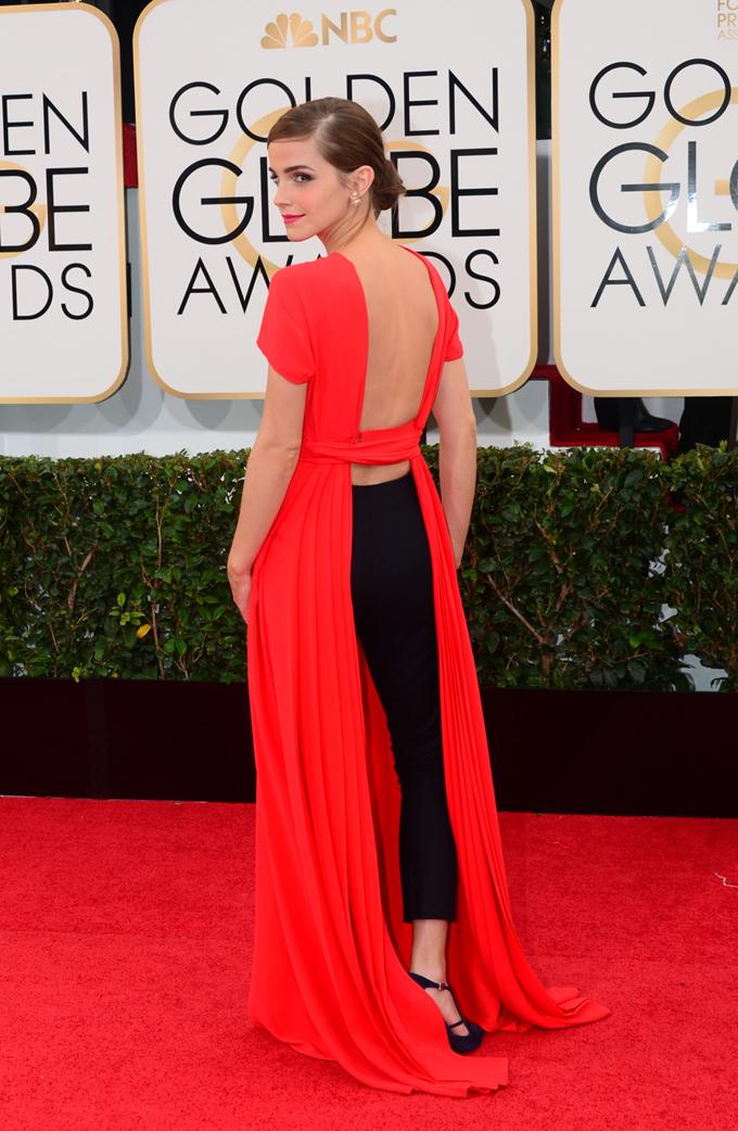 Emma Watson Globos de Oro