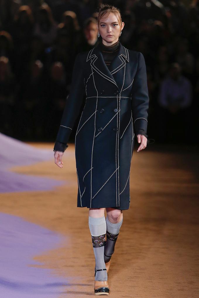 Gemma Ward para Prada
