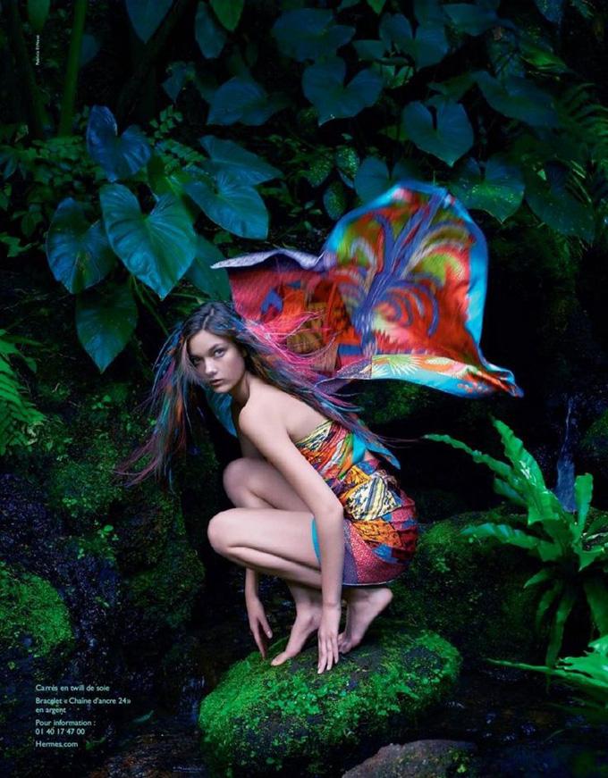 Hermès spring 2014 publi