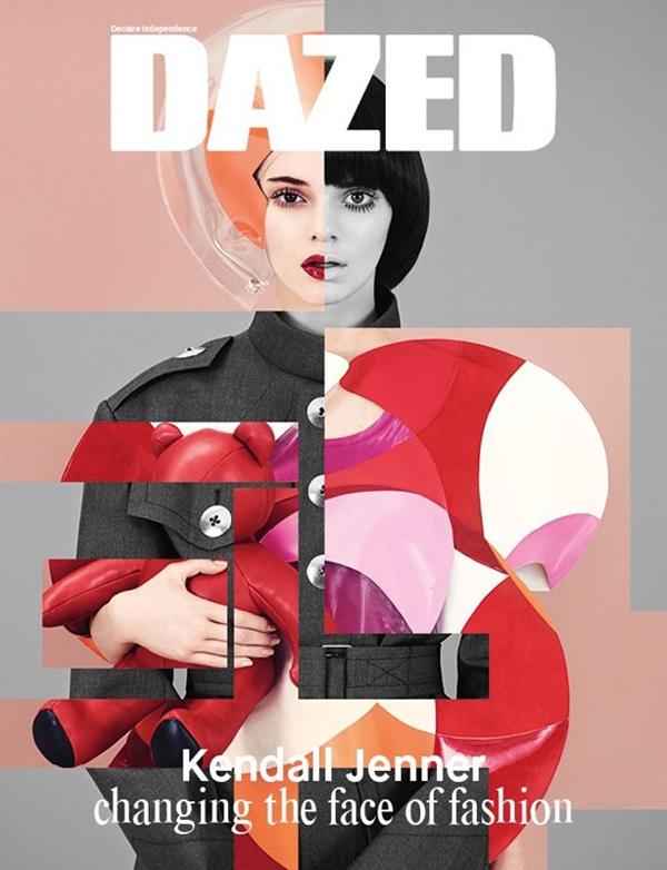 Kendall Jenner para Dazed Magazine Fall 2014