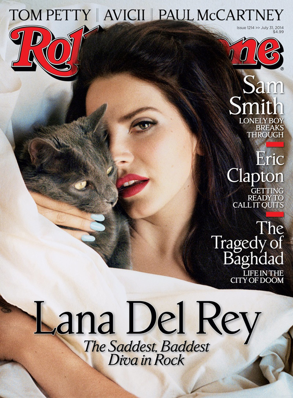 Lana del Rey on Rolling Stone July 2014