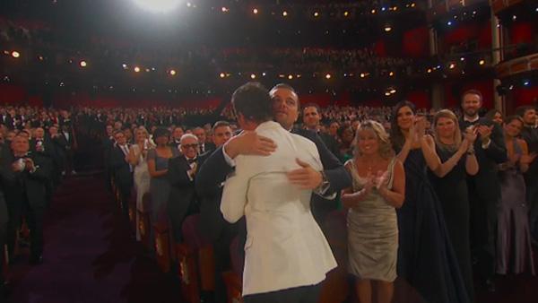 Matthew+Leo DiCaprio, Oscars