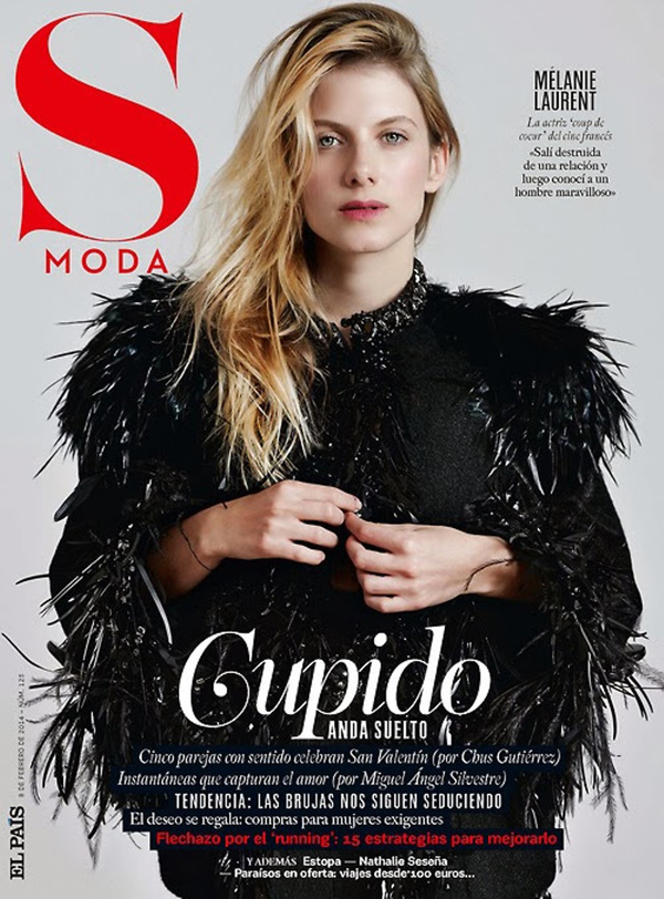 Melanie Laurent by Eric Guillemain for S Moda Feb 2014