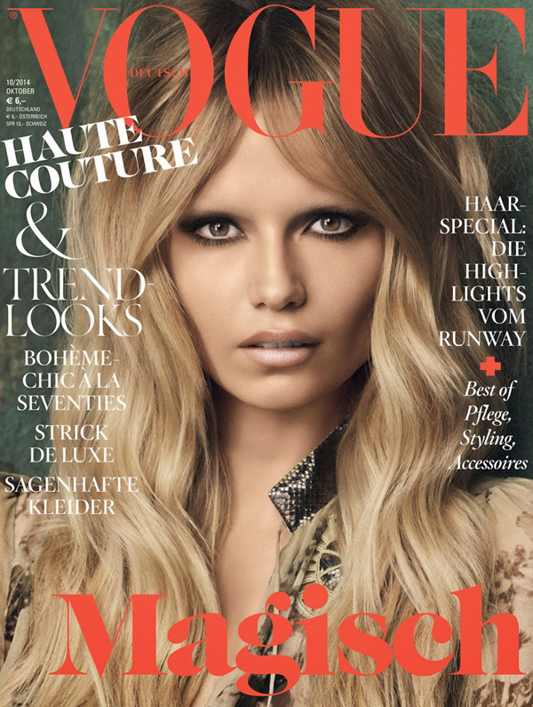 Natasha Poly by Luigi+Iango for Vogue Germany Oct 2014