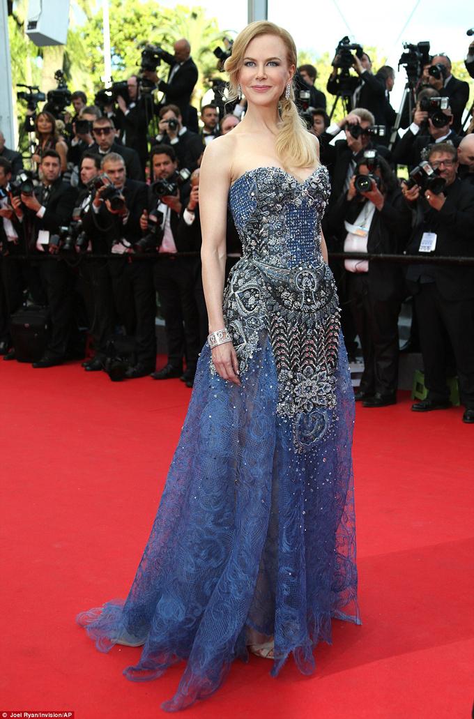 Nicole Kidman Grace premiere Cannes 2014