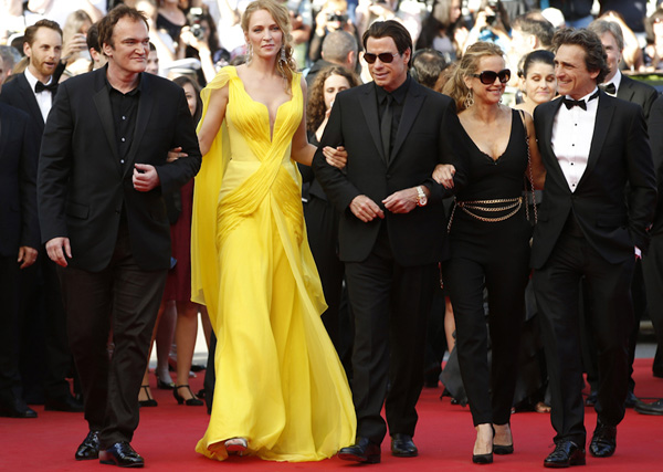 pulp fiction vuelve a Cannes, 2014