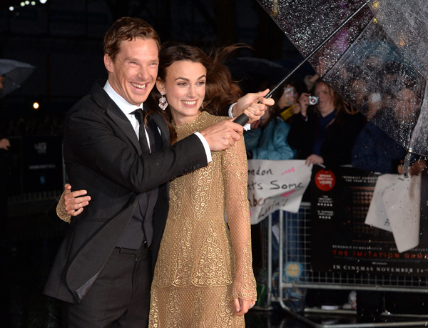 """The Imitation Game"" - Opening Night Gala Red Carpet Arrivals - 58th London Film Festival"