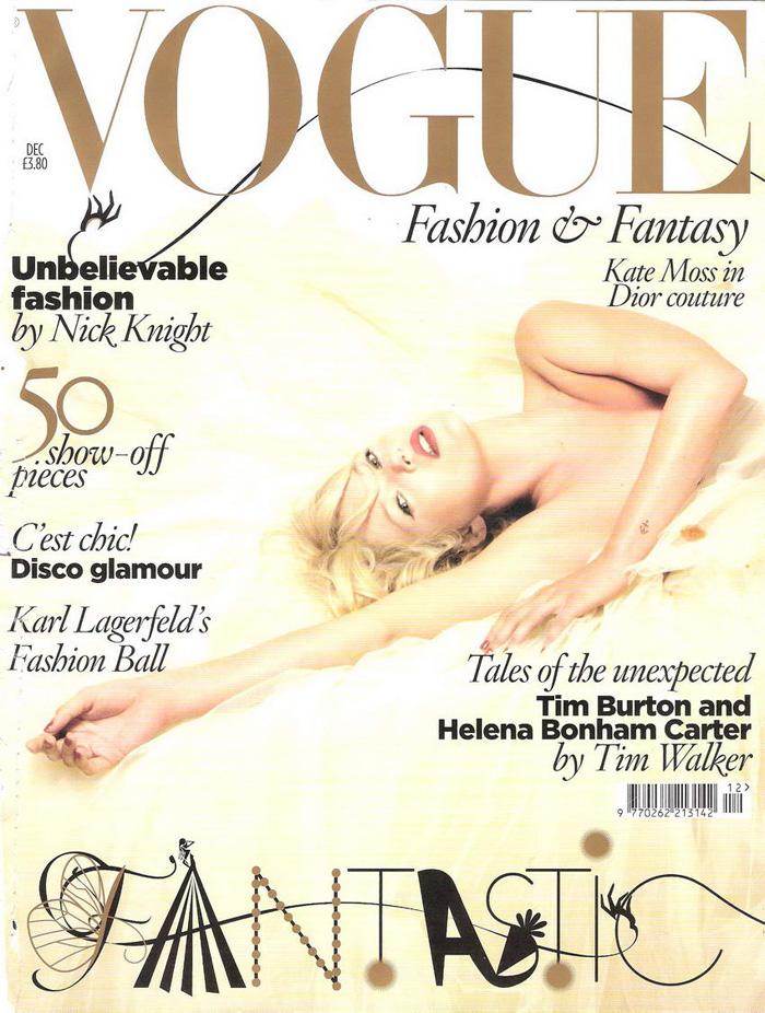 Vogue UK Dec 2008