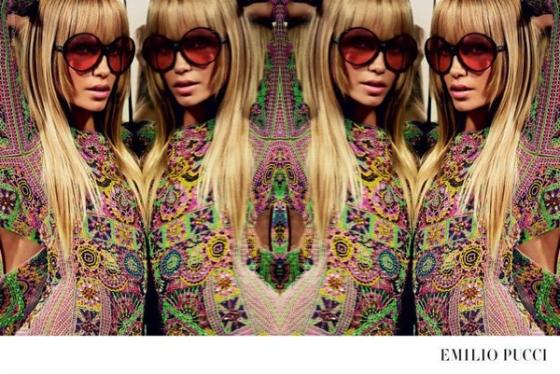 Pucci Spring 2015 Campaign