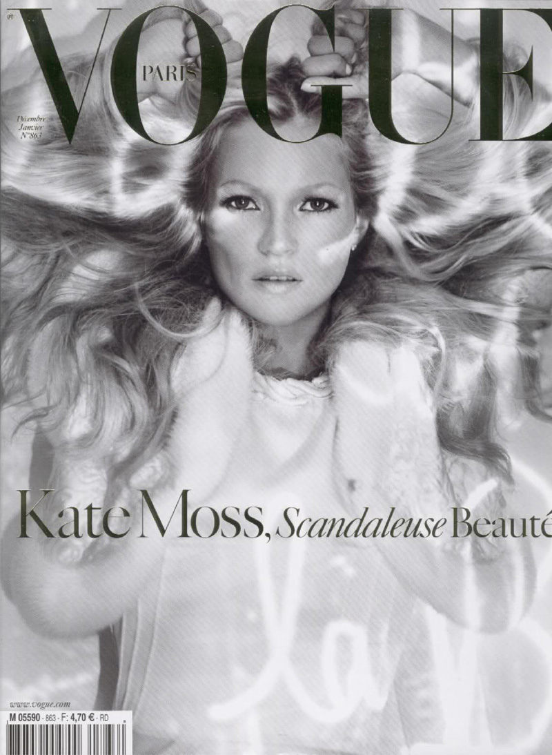 Vogue París Dic Enero 2008 2009 por Craig McDean