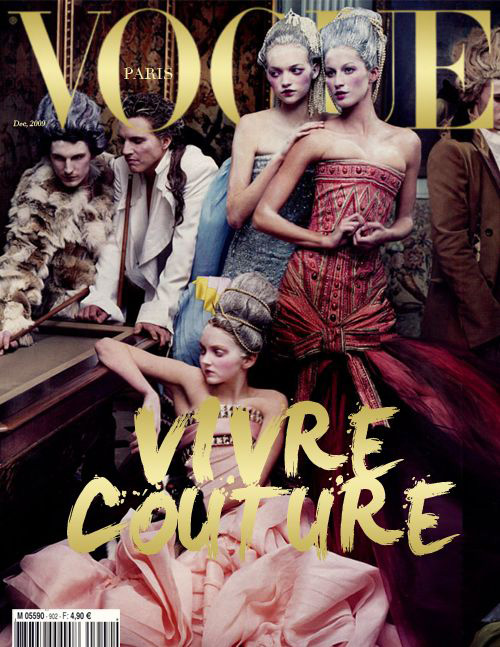 Vogue Paris Dec 2009