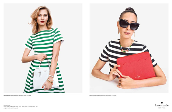 Kate Spade Spring 2015 Campaign