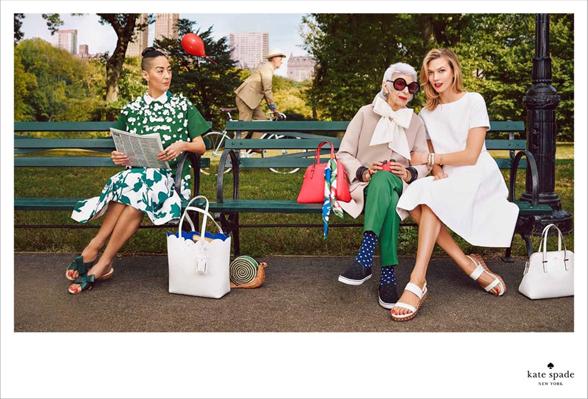 Kate Spade Spring 2015 Campaign