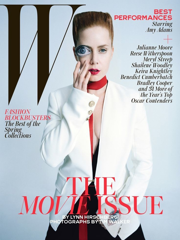 Amy Adams for W Magazine February 2015