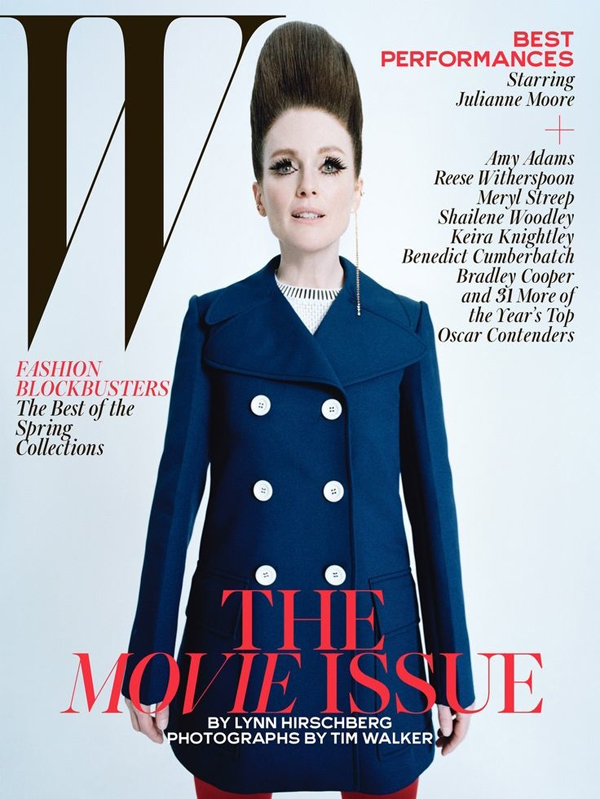 Julianne Moore for W Magazine February 2015