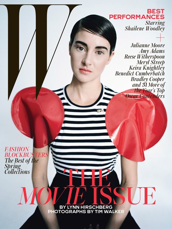 Shailene Woodley for W Magazine February 2015