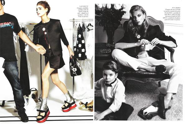 'Doble vida' por Giampaolo Sgura para Vogue España 2013