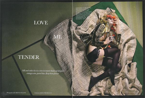 Love me tender por Karen Collins