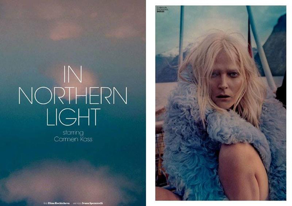 'In northern light' por Elina Kechicheva