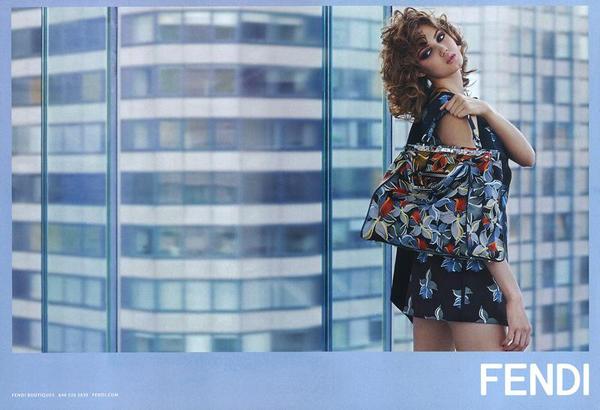 Fendi Spring 2015 Campaign