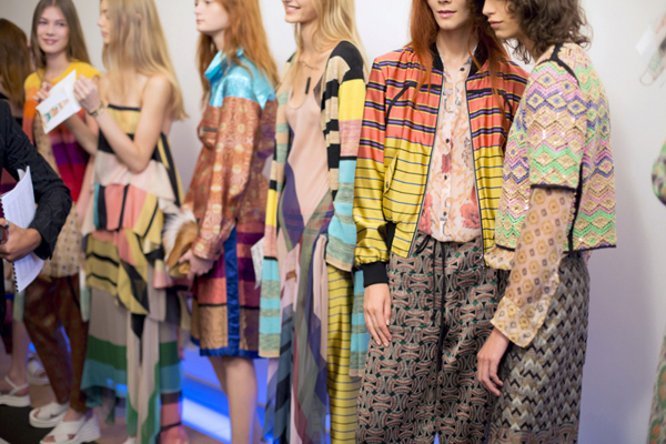 Dries Van Noten Spring 2015 Backstage