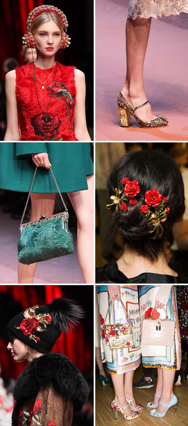Dolce+Gabbana Fall 2015