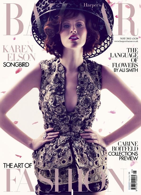 Harper's Bazaar May 2013 cover