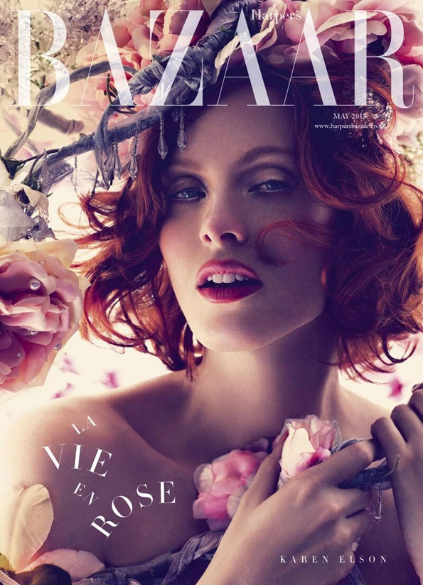 Harper's Bazaar May 2013 cover