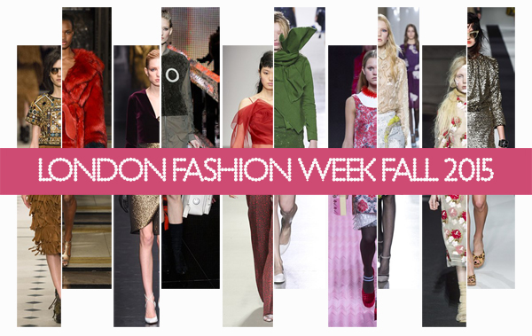 London Fashion Week Fall 2015
